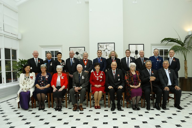 an image of Their Excellencies with the recipients