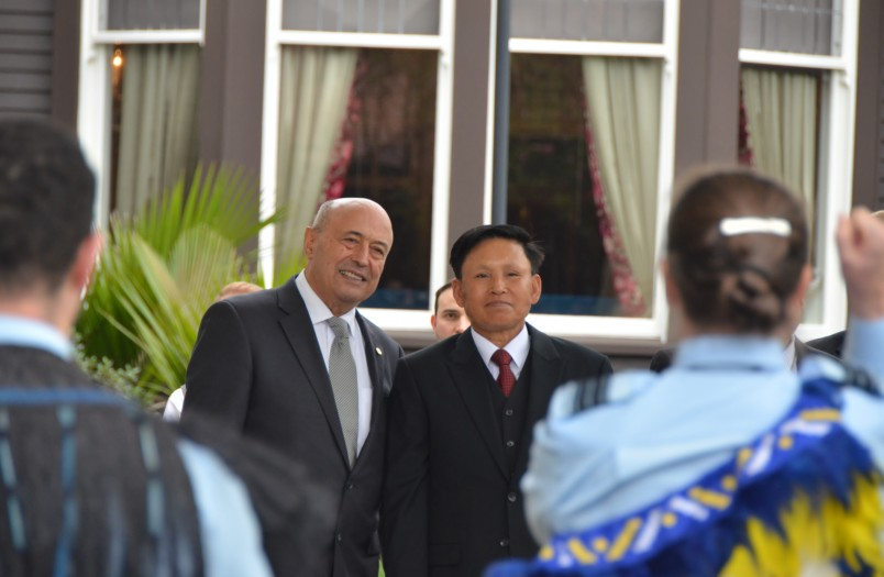 Image of Ambassador of the Lao People's Democratic Republic, HE Mr Sisavath Inphachanh