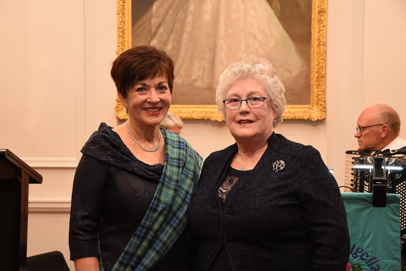 an image of Dame Patsy with Elaine Laidlaw