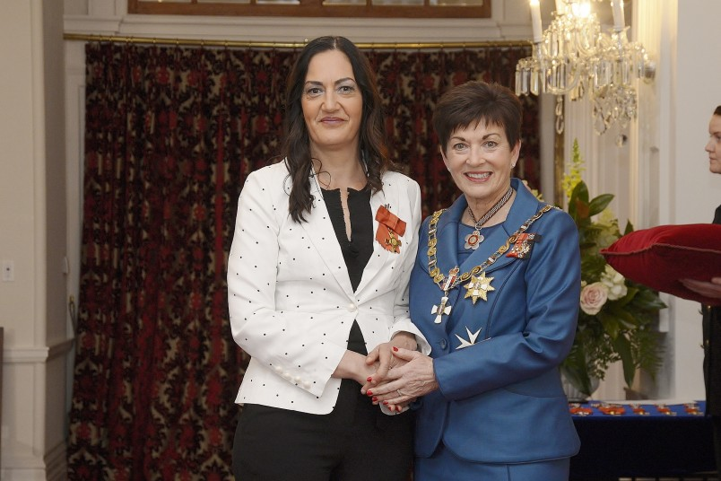 Image of Briar Grace-Smith, of Paraparaumu, ONZM, for services to theatre, film and television