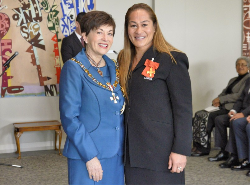 Image of  Fiao'o Faamausili, of Auckland, ONZM, for services to rugby