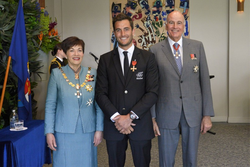 Image of Blair Tuke, of Auckland, MNZM, for services to sailing