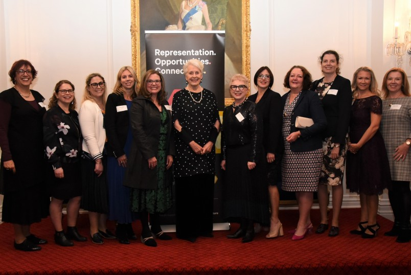 Dame Silvia Cartwright and WIN advisory board