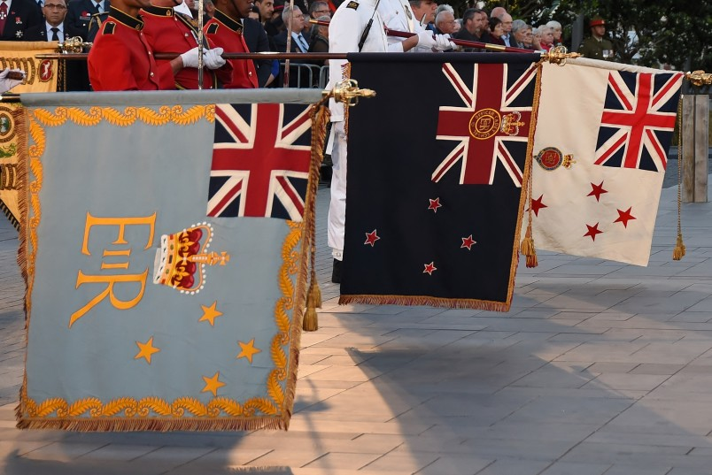 Image of NZDF regimental colours