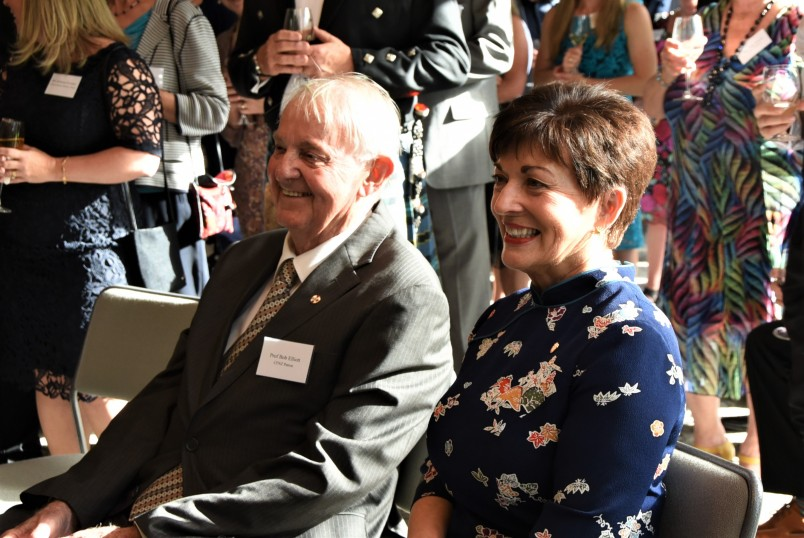 an image of Dame Patsy and Professor Bob Elliot