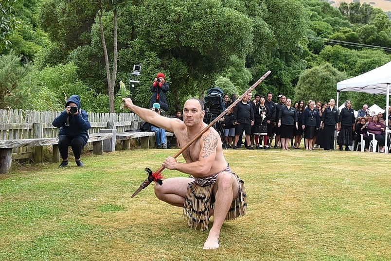Image of the challenge at Onuku Marae