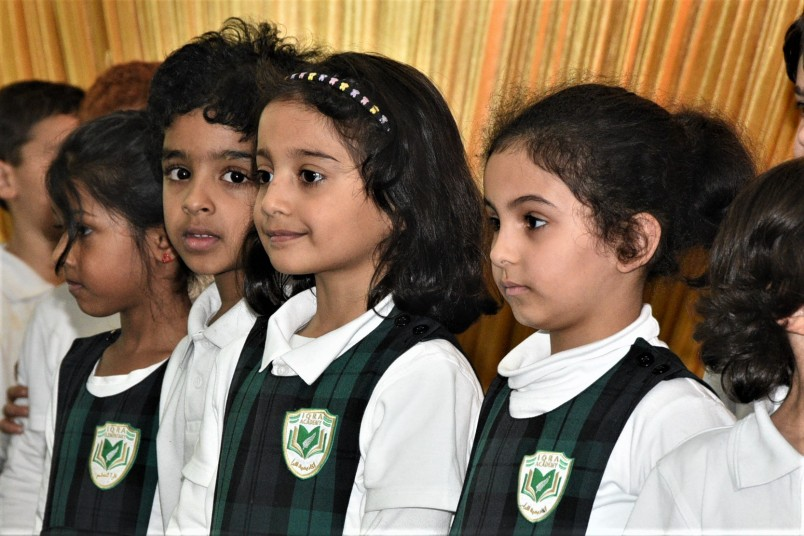 Iqra Elementary School students