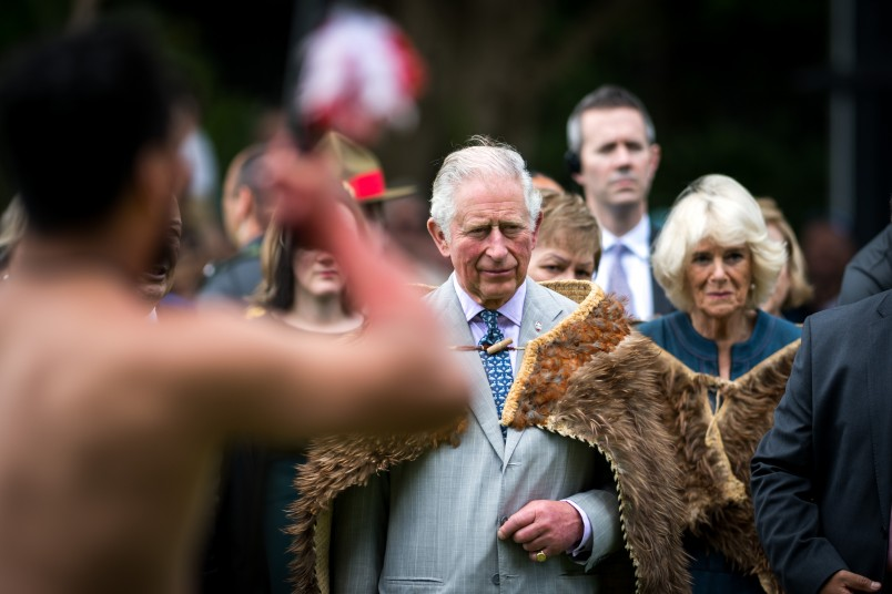 Image of Prince Charles at Waitangi