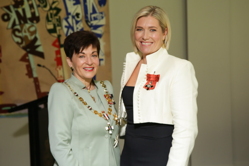 Ruth Money and Dame Patsy Reddy
