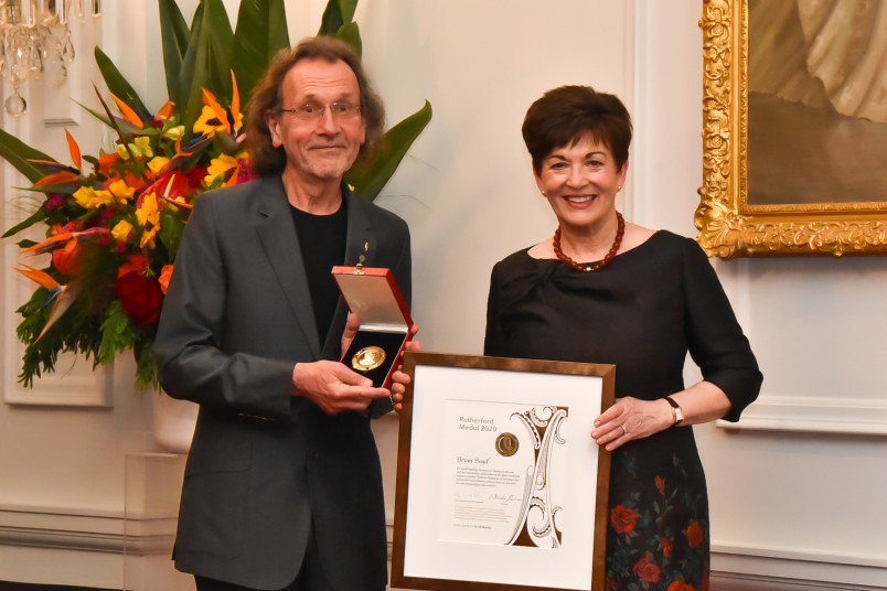 Distinguished Professor Brian Boyd - Rutherford Medal