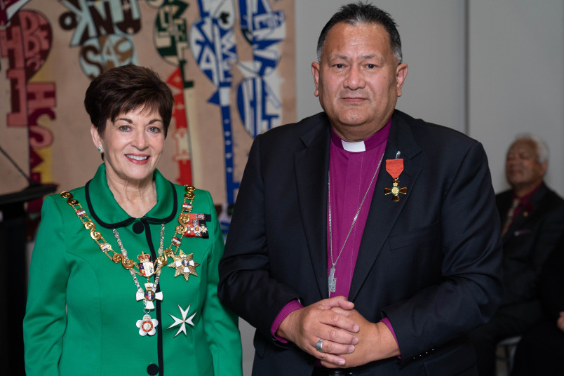 The Right Reverend Te Kītohi Pikaahu, Dame Patsy Reddy