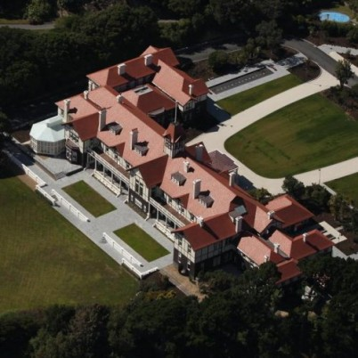 Aerial View of Government House Wellington.