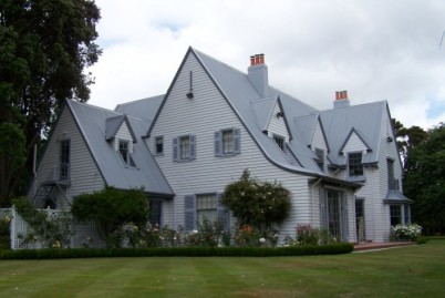 The first Government House, Wellington