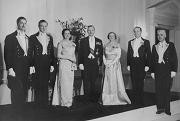 Sir Bernard and Lady Freyberg at Government House