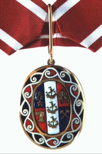 The Order of NZ Badge