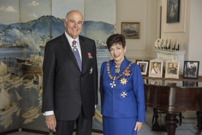 Image of Dame Patsy Reddy and Sir David Gascoigne - official portrait