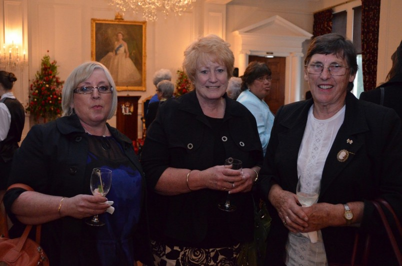 Guests at the Celebrating Women reception.