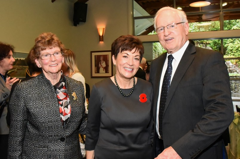 Dame Patsy and The Rt Hon Jim Bolger and Mrs Joan Bolger