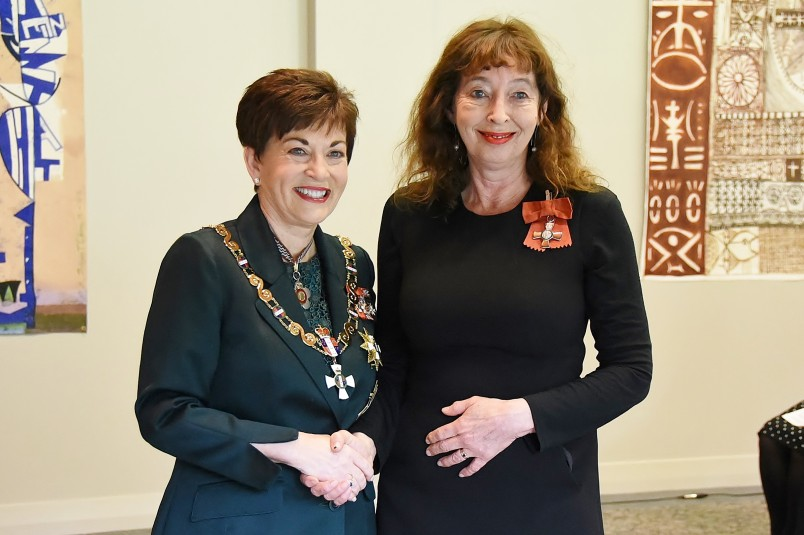 Image of Ms Rachel Lang, of Auckland, MNZM, for services to television