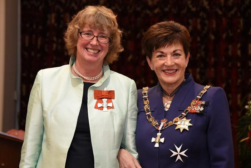 Image  of Lyn Provost, of Upper Hutt, CNZM, for services to the State