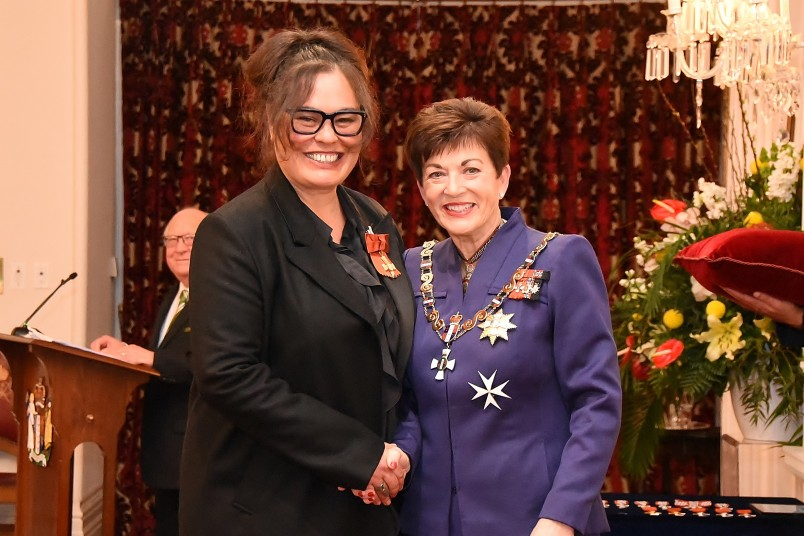 Image of Rachel House, of Auckland, ONZM, for services to the performing arts