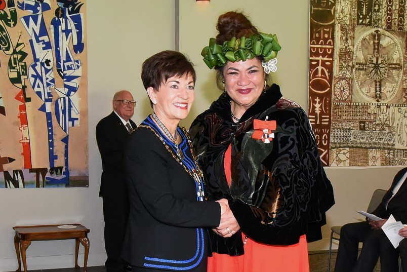 An image of Ms Mary Ama, of Auckland, CNZM for services to the arts and the Pacific community