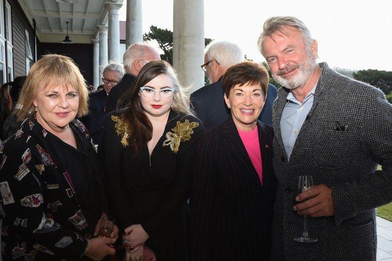 an image of Dame Patsy and guests