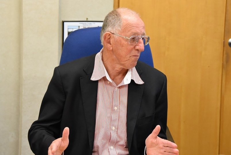 Image of Hubbards founder Dick Hubbard