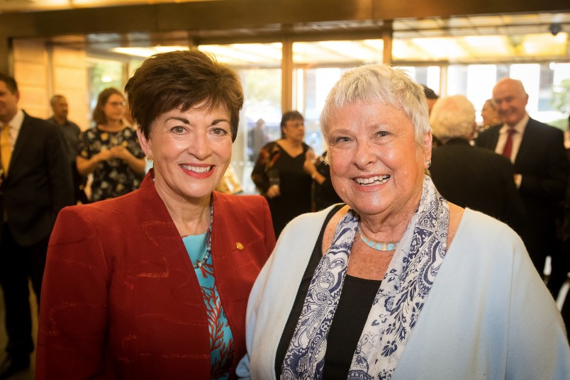 an image of Dame Patsy with Jenny George