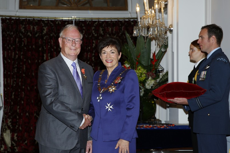 an image of John Harrison, of Lyttleton, ONZM for services to music and theatre