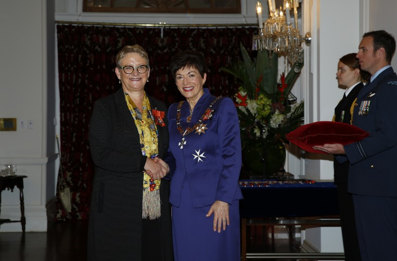 an image of Professor Sally Davenport, of Wellington, MNZM for services to science