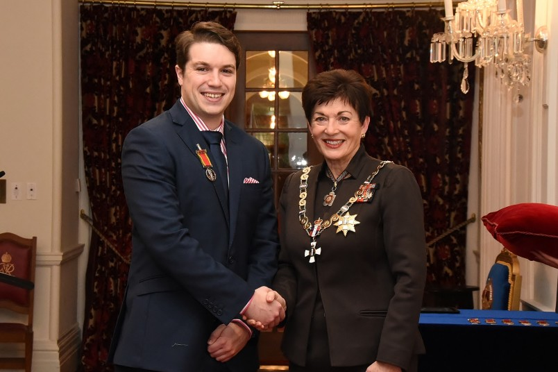 Image of Dame Patsy and Rory Clarke