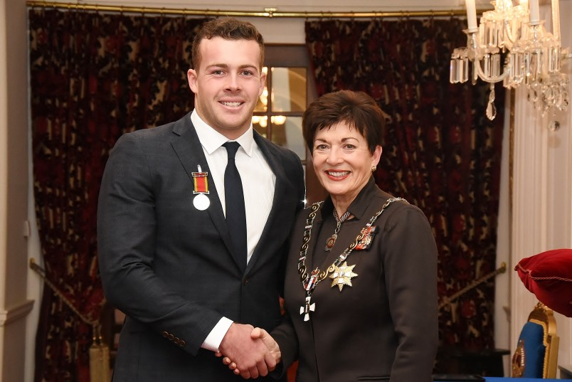 Image of Dame Patsy and Andrew Roy