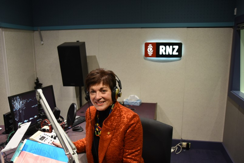 Image of Dame Patsy at RNZ