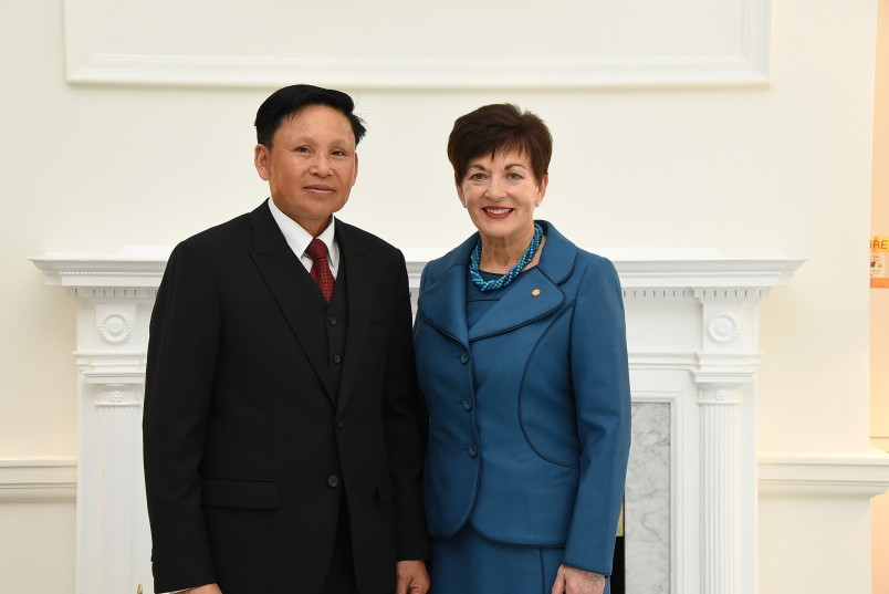 Image of the Ambassador of the Lao People's Democratic Republic, HE Mr Sisavath Inphachanh