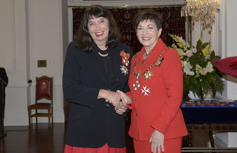 Image of Dame Patsy and Dame Catherine Healy