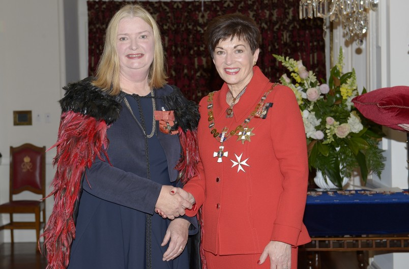 Image of Anne Scott, of Wellington, MNZM, for services to quilting