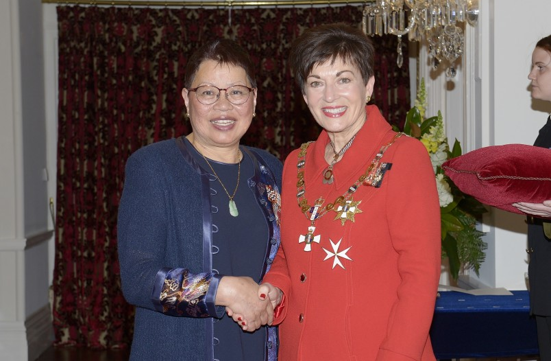 Image of   Virginia Chong, of Auckland, QSM, for services to the Chinese community