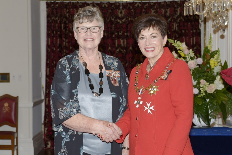 Image of Mary Mackintosh, of Kaiapoi, QSM, for services to the community
