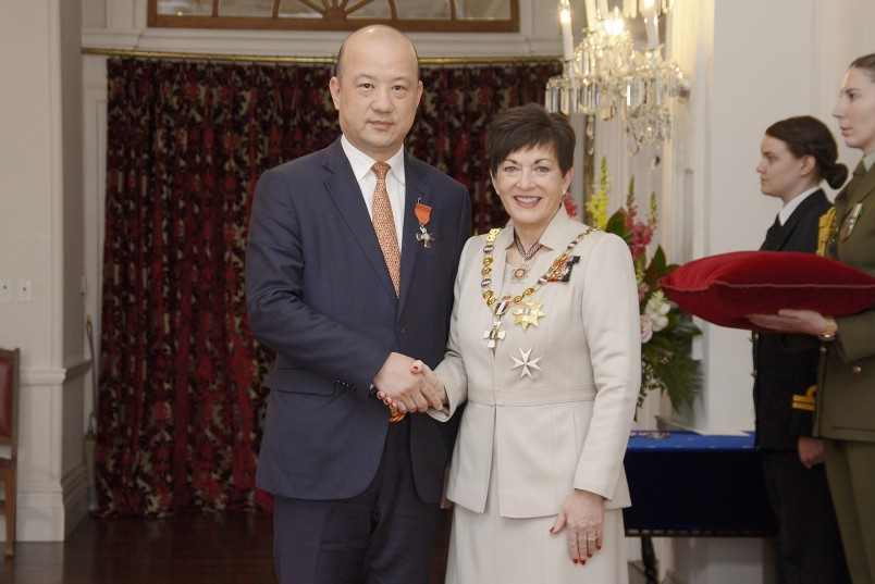 Image of Yikun Zhang, of Auckland, MNZM, for services to New Zealand-China relations and the Chinese community