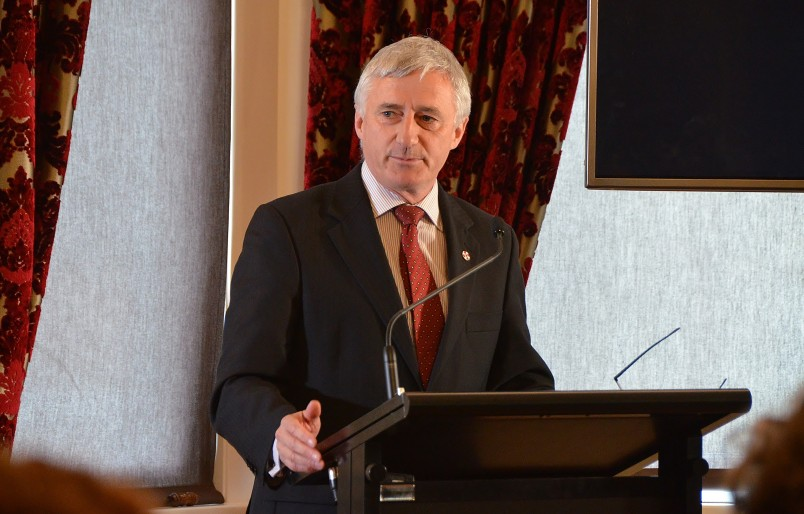 Image of Dr William Rolleston speaking about being an evidence-based advocate