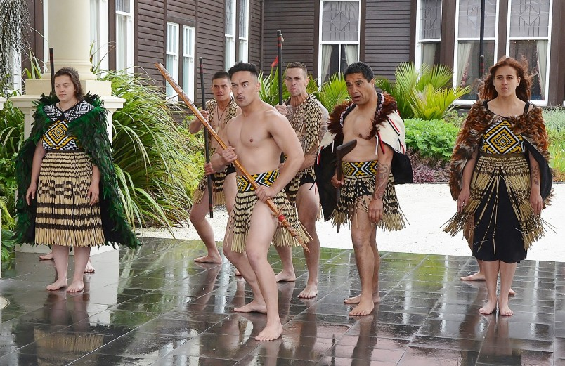 Image of The NZ Army's cultural group