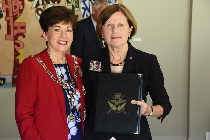 Image of Judith Murphy and Dame Patsy