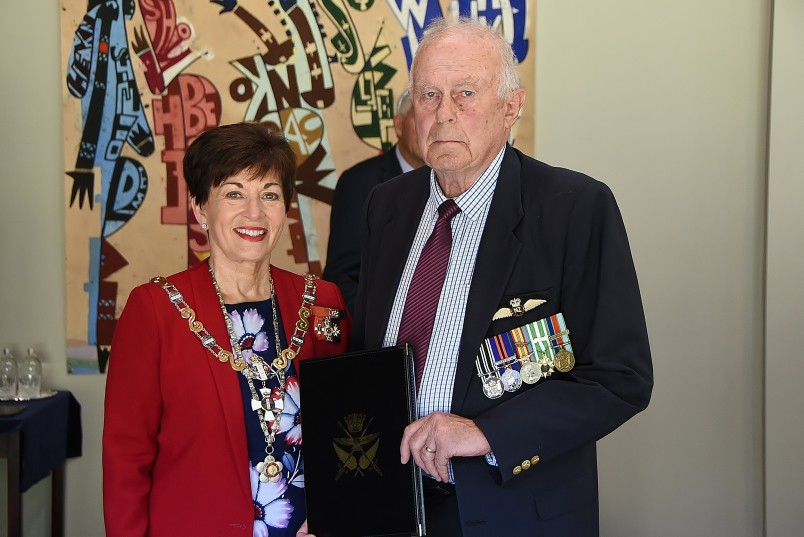 Image of John Pendreigh and Dame Patsy