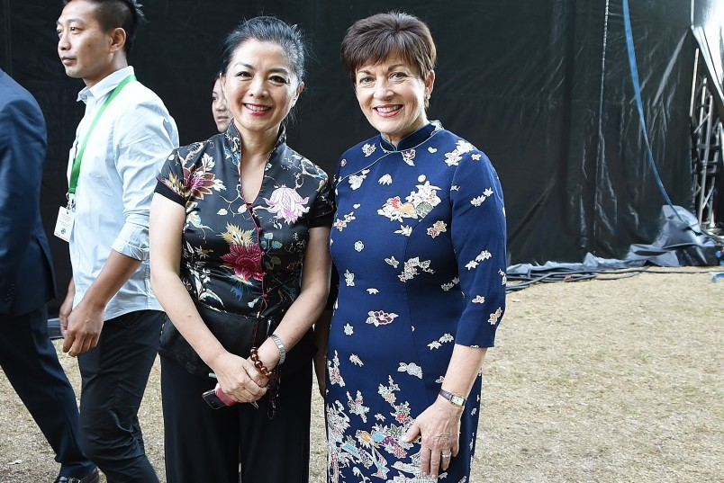 Image of Dame Patsy and Madam Xu Erwen, Consul General of the People's Republic of China