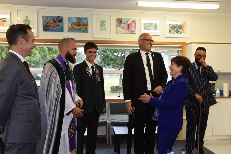 Dame Patsy meeting Dilworth Trust Board members, staff and students