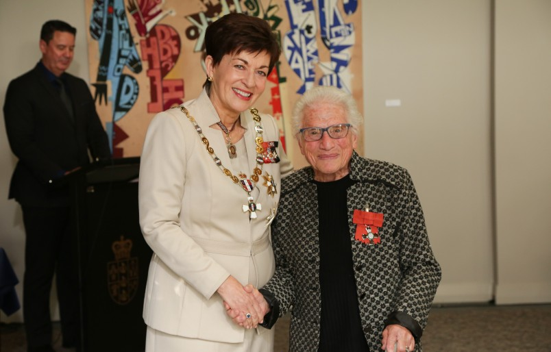 Image of  Joan Lardner-Rivlin, of Auckland, MNZM for services to seniors