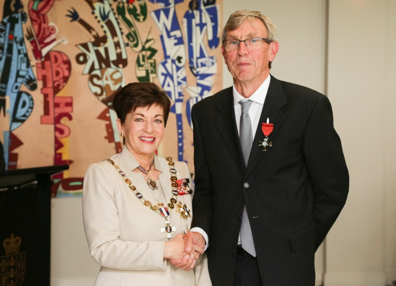 Image of Dr Rob Stewart, of Pauanui, MNZM, for services to children with genetic immune deficiency disorders