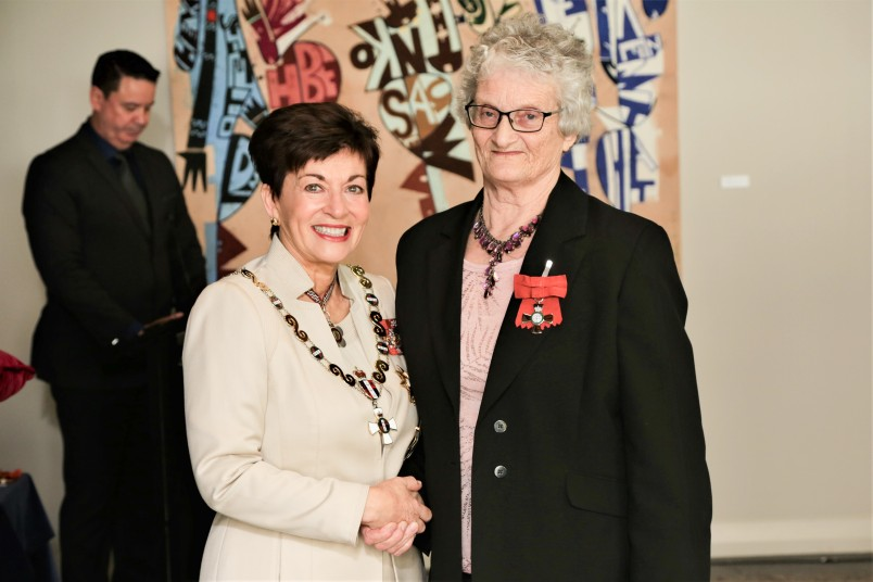 Val Burrell, of Te Puke, MNZM for services to the community and horticulture