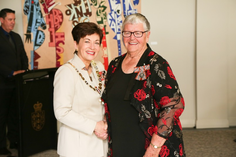 Gwen Lawson, of Whangarei, QSM for services to sports administration